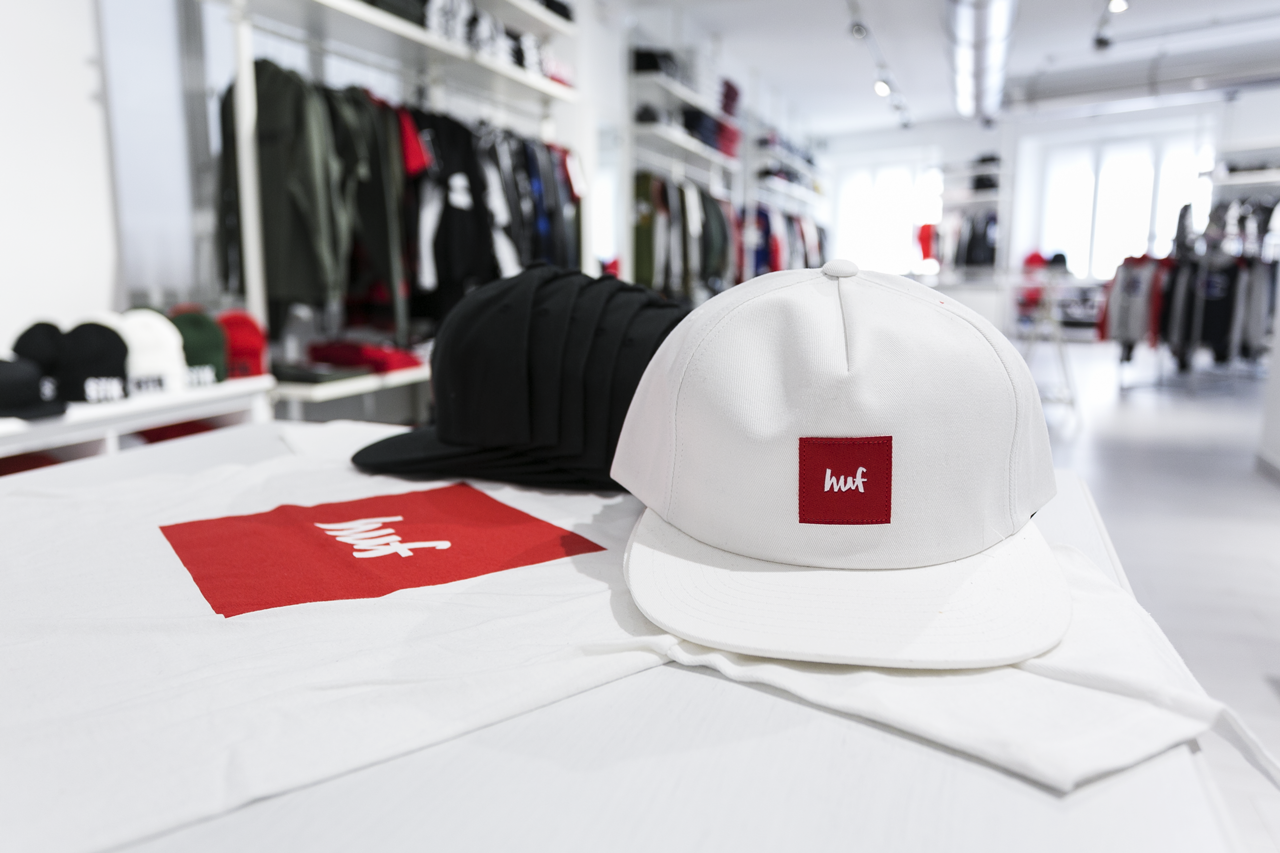 HUF streetwear atipici online shop torino