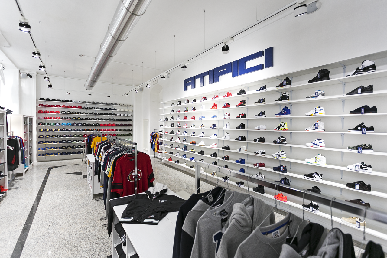 Atipici 2.0 Streetwear Sneakers Caps Torino