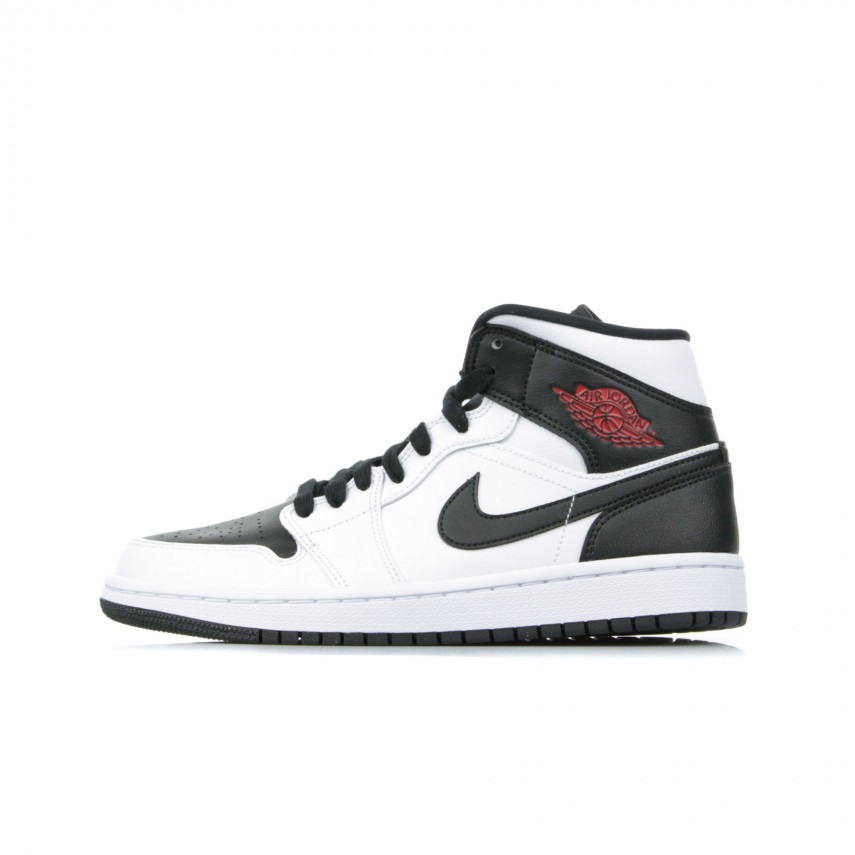 sneakers for cheap 46ad0 42097 SCARPA ALTA WMNS AIR JORDAN 1 MID WHITE/GYM RED/BLACK | Atipicishop.com