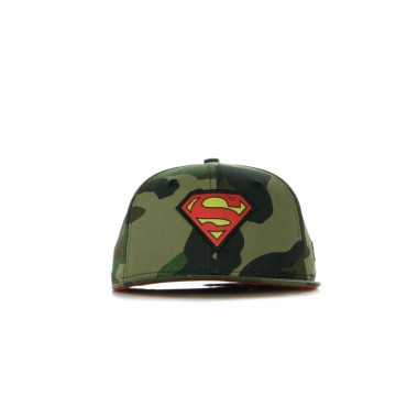 CAPPELLO VISIERA PIATTA REGOLABILE CHARACTER 9FIFTY SUPERMAN M