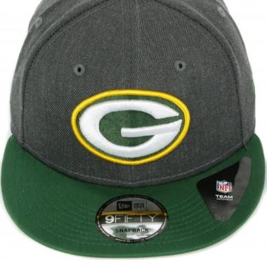 FLAT BILL CAP NFL HEATHER 9FIFTY GREPAC