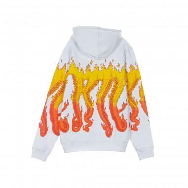 FELPA CAPPUCCIO FLAMES HOODIE M