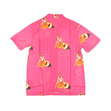 SHORT SLEEVES SHIRT PEACHY WOVEN SHIRT