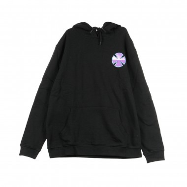 HOODED SWEATSHIRT PURPLE CHROME HOOD