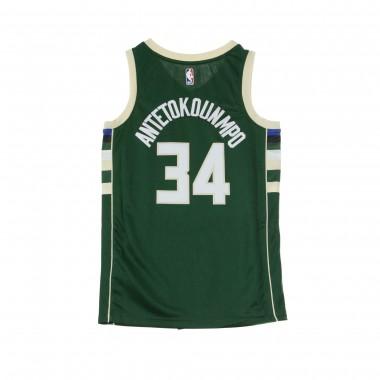 BASKET NBA SWINGMAN JERSEY NO34 GIANNIS ANTETOKOUNMPO MILBUC ROAD