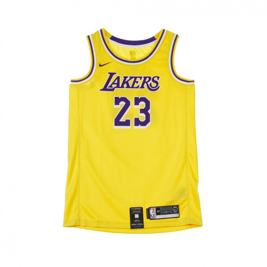 huge selection of 97884 bf31d CANOTTA BASKET NBA SWINGMAN JERSEY NO23 LEBRON JAMES LOSLAK ROAD  AMARILLO/FIELD PURPLE/WHITE | Atipicishop.com