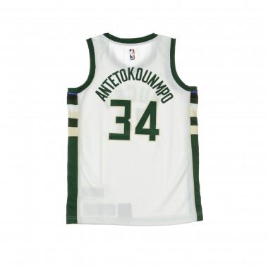 BASKET NBA SWINGMAN JERSEY NO34 GIANNIS ANTETOKOUNMPO MILBUC HOME