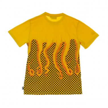 T-SHIRT CHECKERED TEE