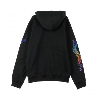 HOODED SWEATSHIRT EMBROIDERED LOGO HOODIE