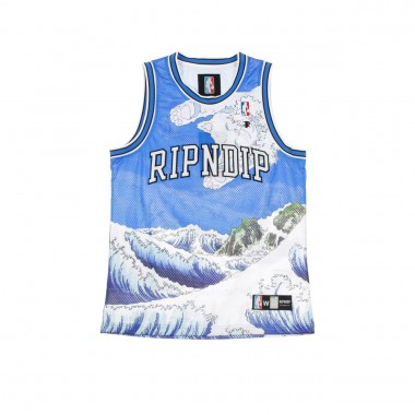 GREAT WAVE BASKET JERSEY