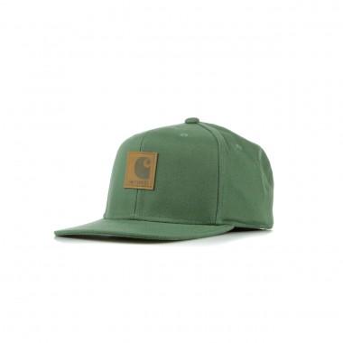 FLAT BILL LOGO CAP