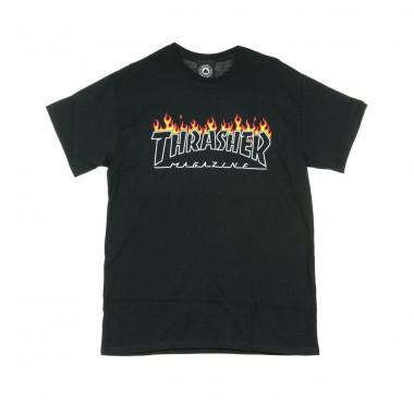 T-SHIRT SCORCHED OUTLINE TEE