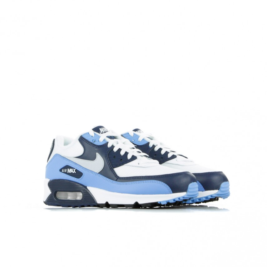 LOW SHOE AIR MAX 90 ESSENTIAL WHITEPURE PLATINUMUNIVERSITY BLUE