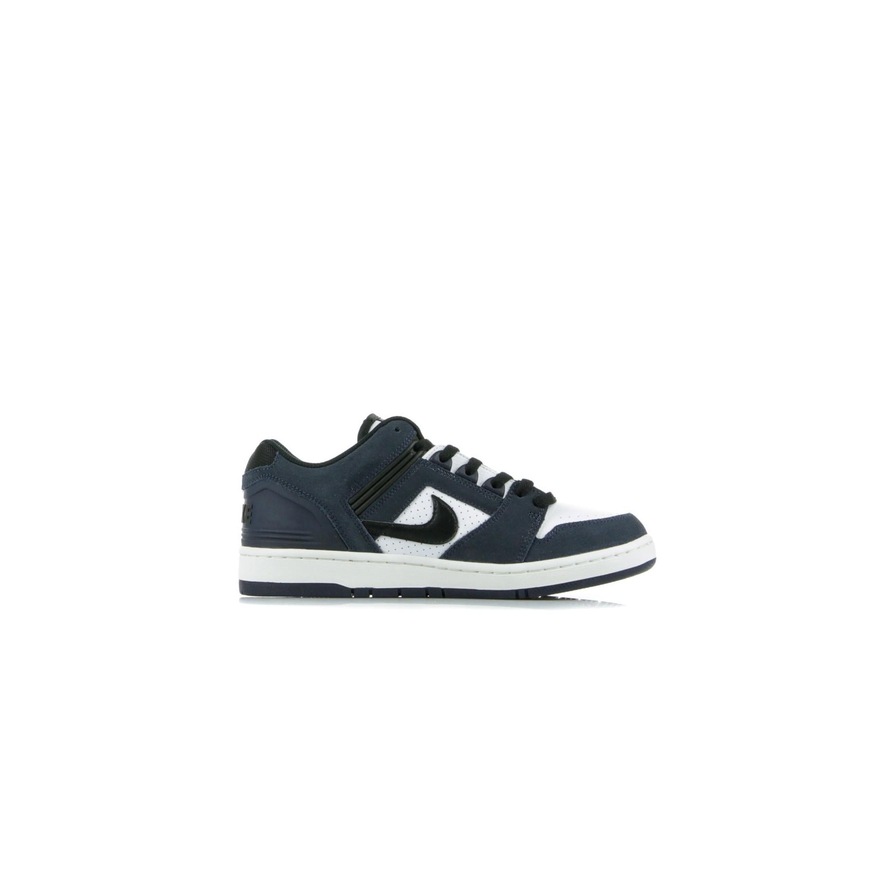 Nike SB Air Force II Low Skate Shoes ObsidianBlack White Celestial