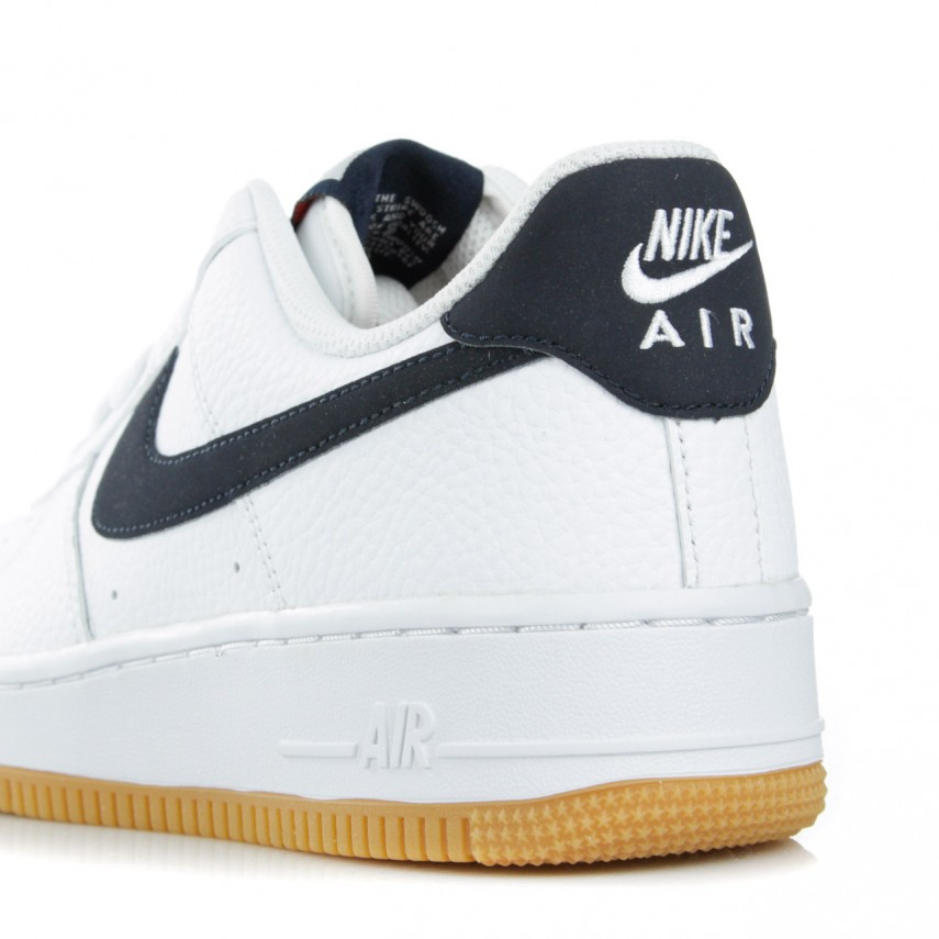 SCARPA BASSA AIR FORCE 1 07 2 WHITEOBSIDIANUNIVERSITY RED |