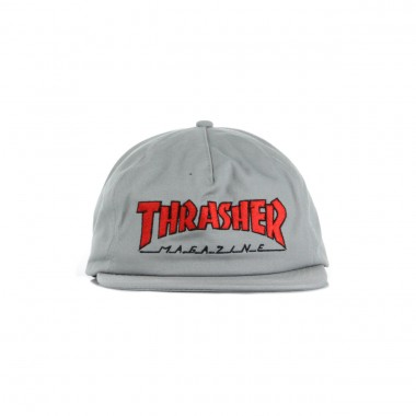 FLAT BILL CAP OUTLINED SNAPBACK