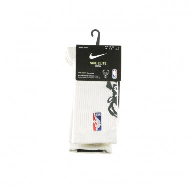 SOCKS NBA ELITE CREW FNW MILBUC