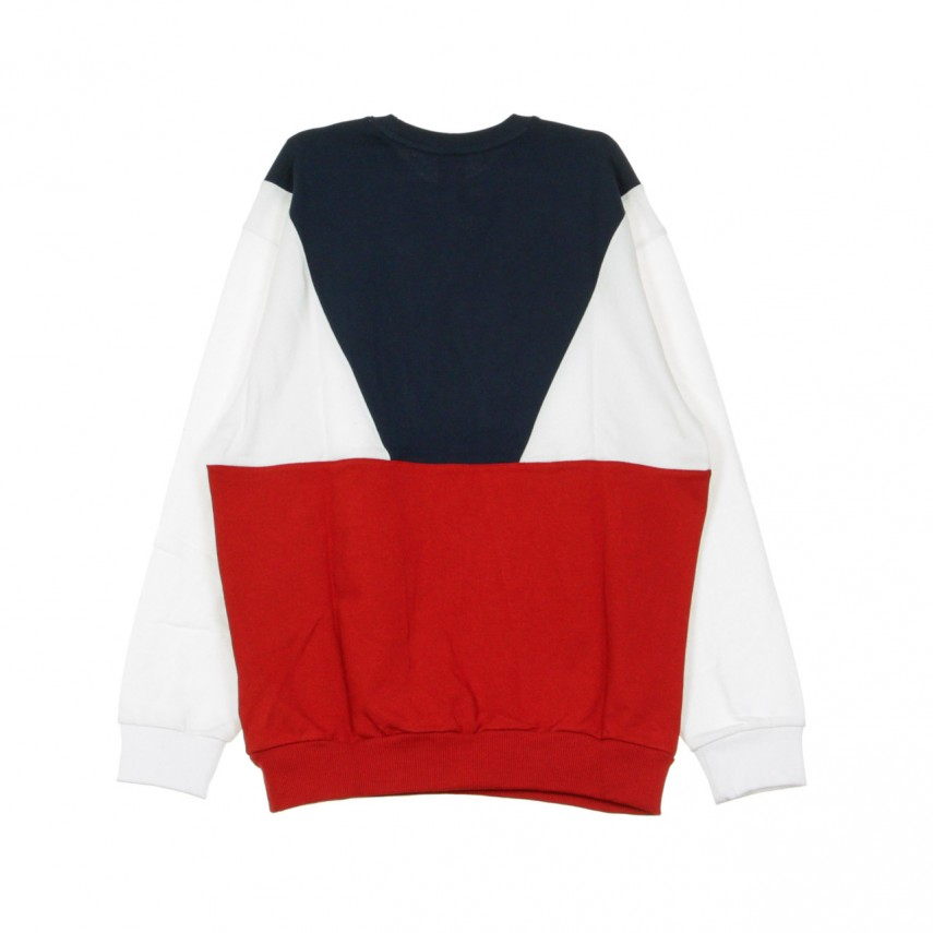 FELPA LEGGERA GIROCOLLO URBAN RETRO SWEAT RED