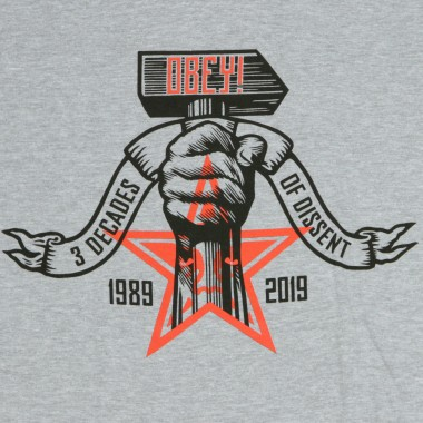 T-SHIRT 3 DECADES OF DISSENT