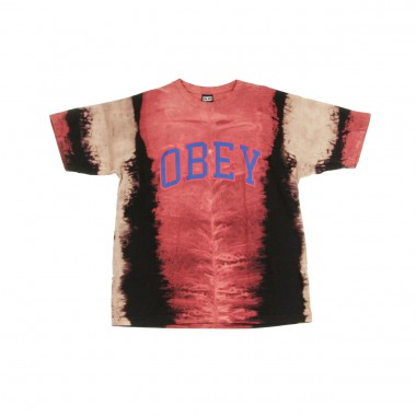 T-SHIRT ACADEMIC VERTICAL TIE DYE
