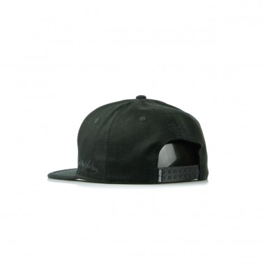 FLAT BILL CAP BLACKBLACK