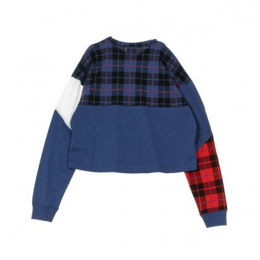 MAGLIETTA MANICA LUNGA TOP LS PLAID L