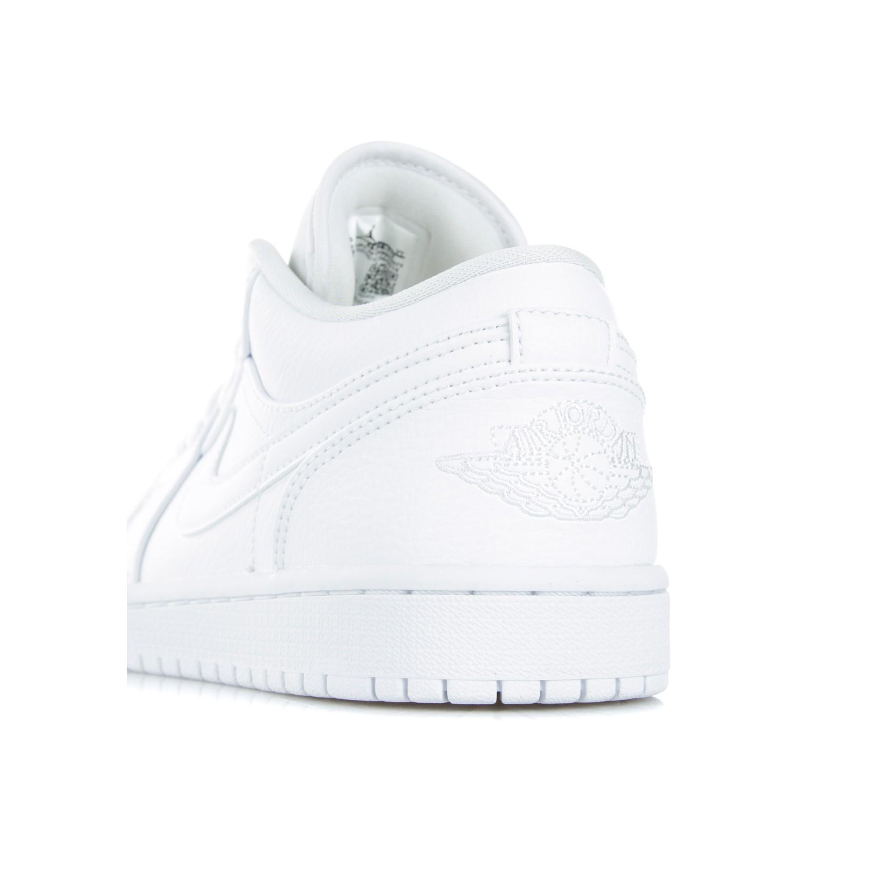 new style 41063 94434 Bassa Low 1 Jordan Whitewhitewhite Air Scarpa v0mNwn8