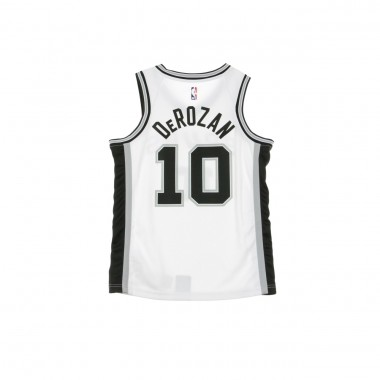 CANOTTA BASKET NBA SWINGMAN JERSEY NO10 DEMAN DEROZAN SANSPU HOME