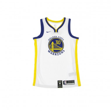 CANOTTA BASKET NBA SWINGMAN JERSEY NO30 STEPHEN CURRY GOLWAR HOME
