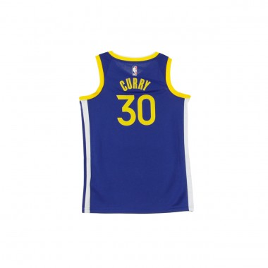 CANOTTA BASKET NBA SWINGMAN JERSEY NO30 STEPHEN CURRY GOLWAR ROAD