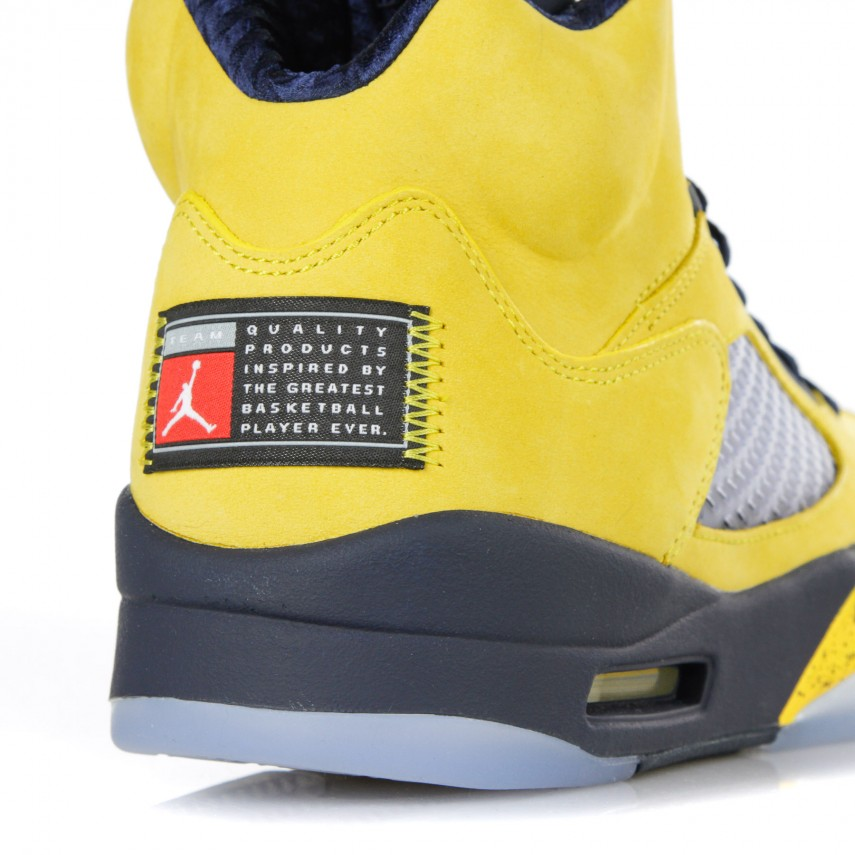 sale retailer 9a70d 06bd6 HIGH SHOE AIR JORDAN 5 RETRO SE AMARILLO/COLLEGE NAVY/AMARILLO