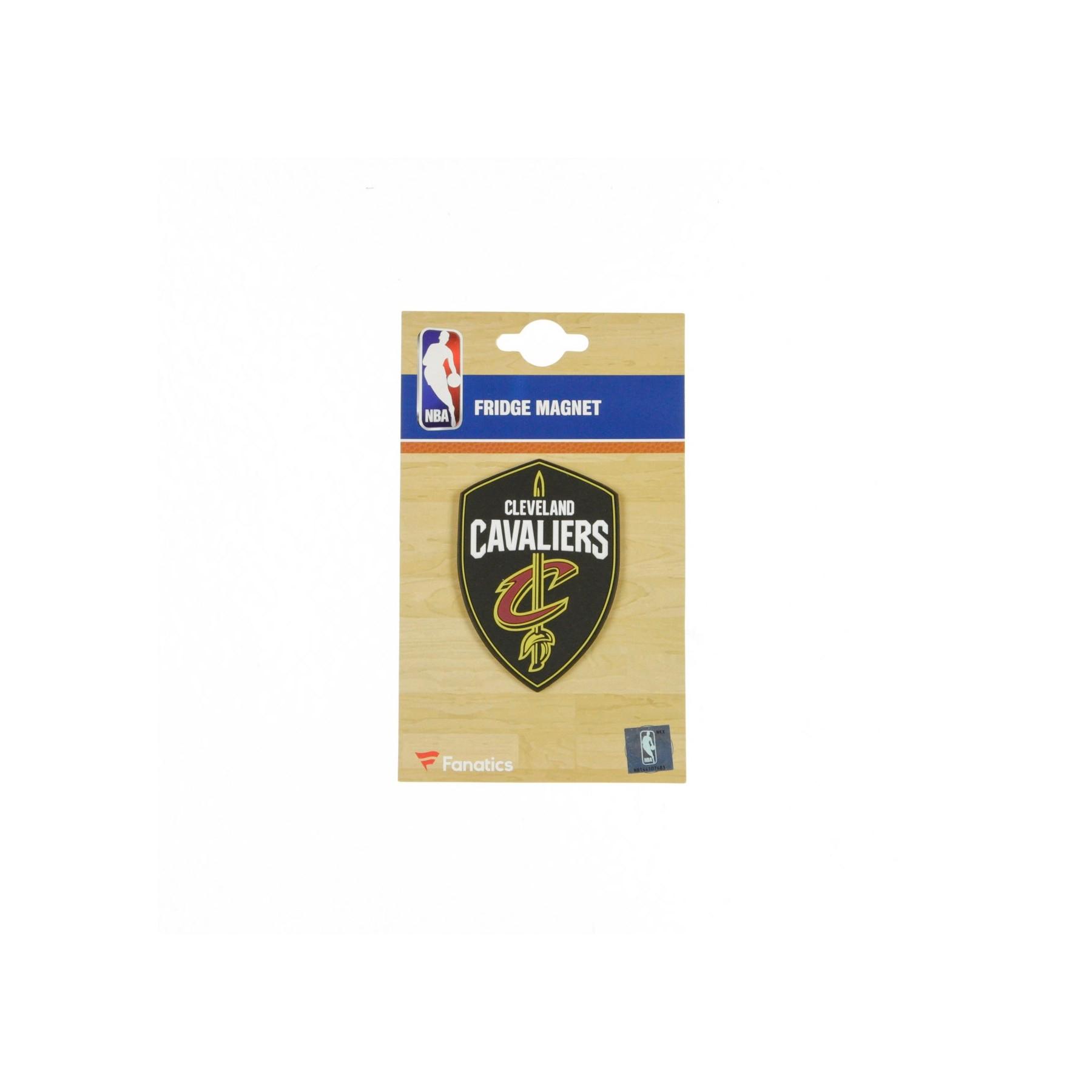 NBA BRANDED RUBBER LOGO MAGNET CLECAV stg