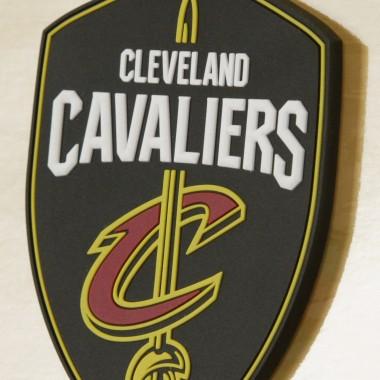 NBA BRANDED RUBBER LOGO MAGNET CLECAV