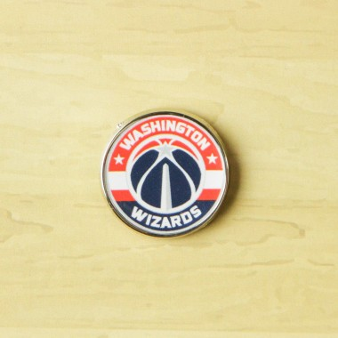 SPILLA NBA PIN BADGE WASWIZ