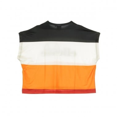 MAGLIETTA CORTA STRIPED CROPPED T-SHIRT