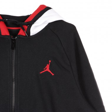 FELPA CAPPUCCIO ZIP JORDAN AIR FULL ZIP