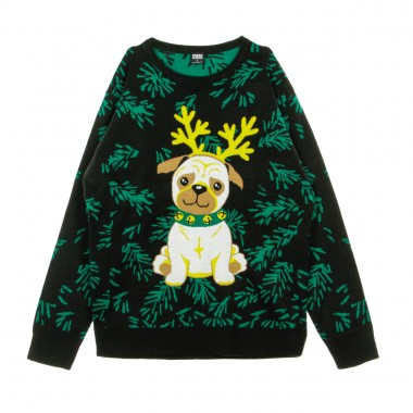 MAGLIONE PUG CHRISTMAS SWEATER
