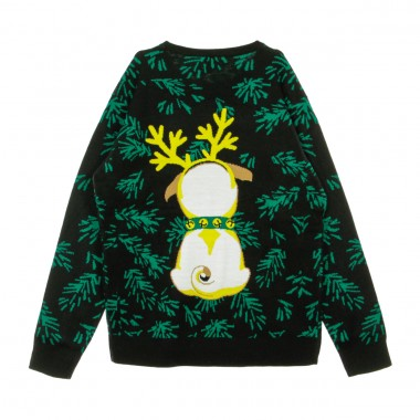 MAGLIONE PUG CHRISTMAS SWEATER 40.5