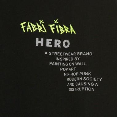 FELPA CAPPUCCIO NYLON HOODIE FUCKTHEROMANCE X FABRI FIBRA