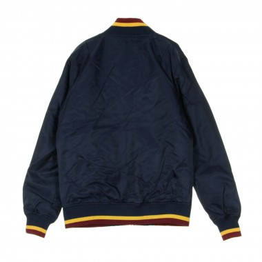 GIUBBOTTO BOMBER NBA TEAM APPAREL VARSITY CLECAV