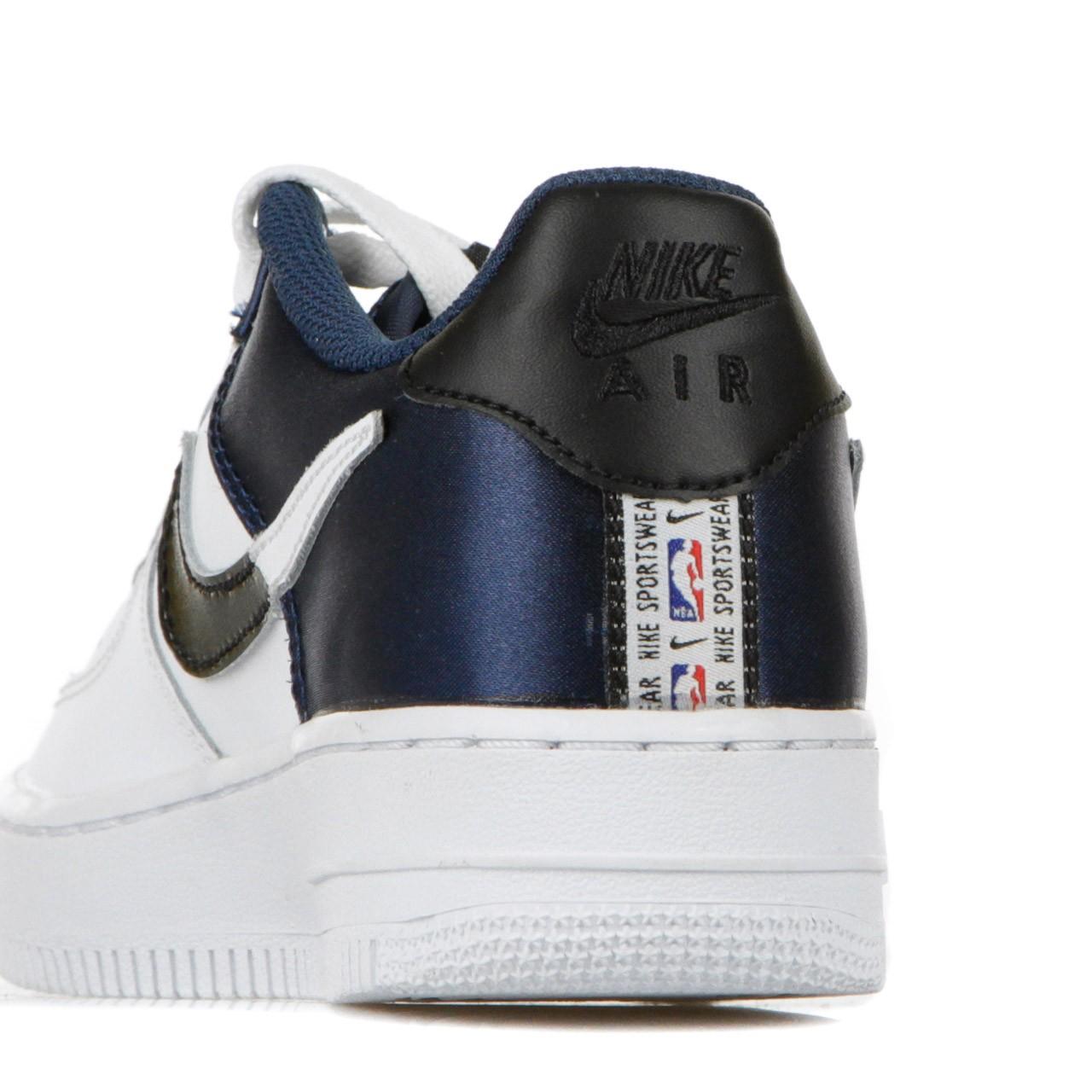 Nike Scarpa bassa bambino air force nba low CK0502-400 | Atipicisho...