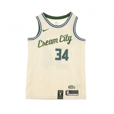 CANOTTA BASKET NBA CITY EDITION SWINGMAN JERSEY NO34 GIANNIS ANTETOKOUNMPO MILBUC