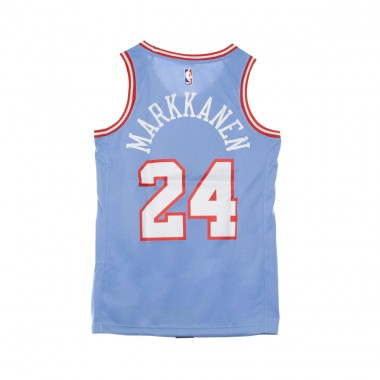 CANOTTA BASKET NBA CITY EDITION SWINGMAN JERSEY NO24 LAURI MARKKANEN CHIBUL