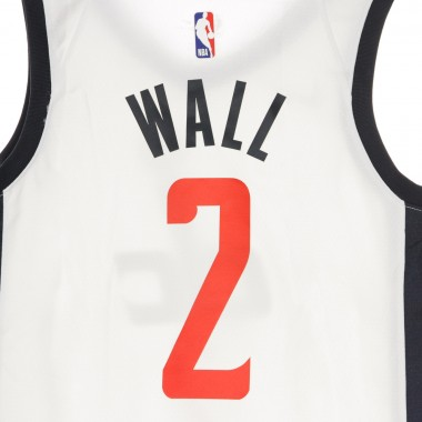 CANOTTA BASKET NBA CITY EDITION SWINGMAN JERSEY NO2 JOHN WALL WASWIZ