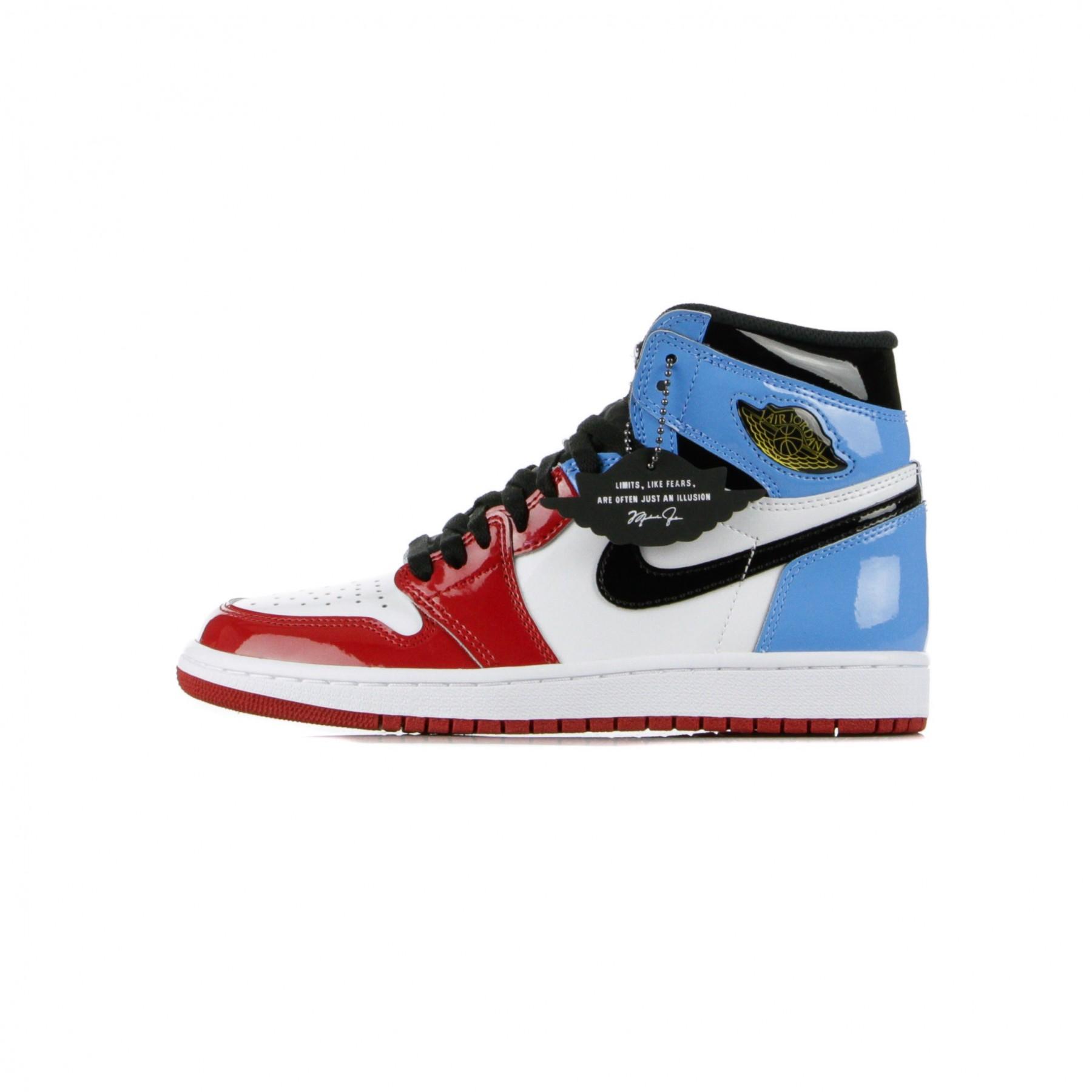 air jordan 1 high red white blue
