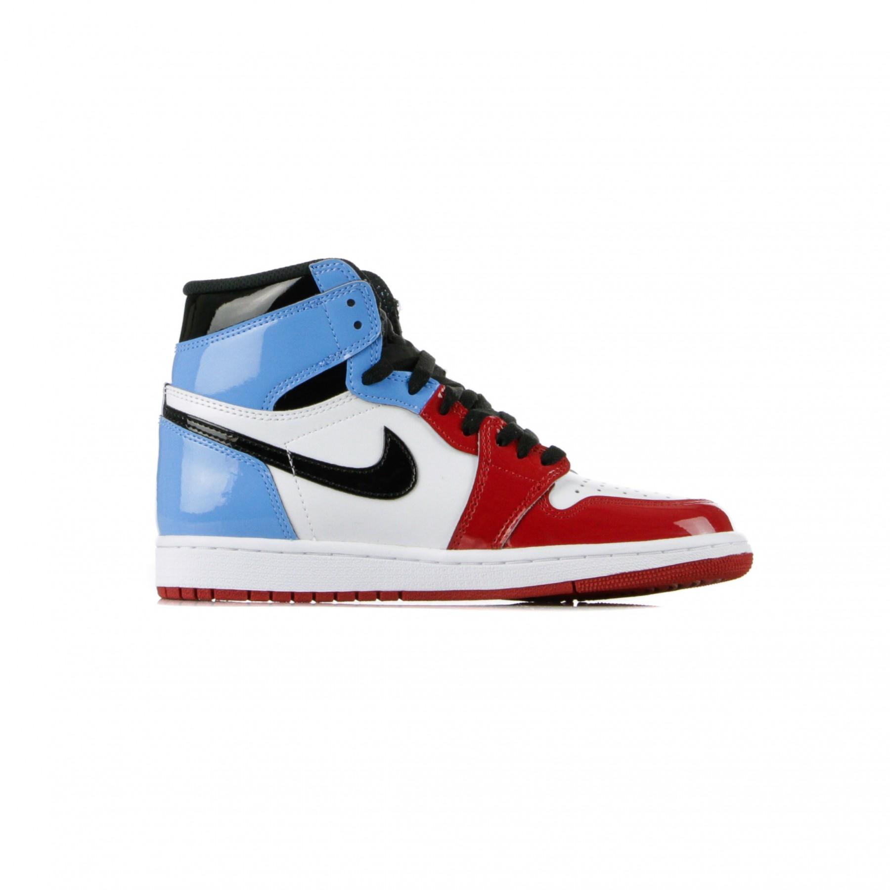 air jordan 1 high rosse e blu