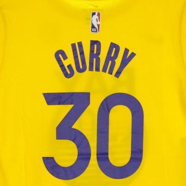 MAGLIETTA NBA STATEMENT TEE NO30 STEPHEN CURRY GOLWAR