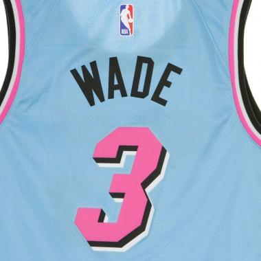 CANOTTA BASKET NBA SWINGMAN JERSEY NO3 DWAYNE WADE MIAHEA