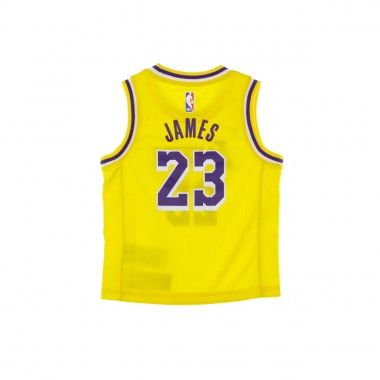 CANOTTA BASKET NBA REPLICA ICON JERSEY NO23 LEBRON JAMES LOSLAK ROAD