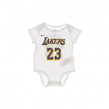 BODY NBA CREEPER 3PK BODYSUIT NO23 LEBRON JAMES LOSLAK 45.5